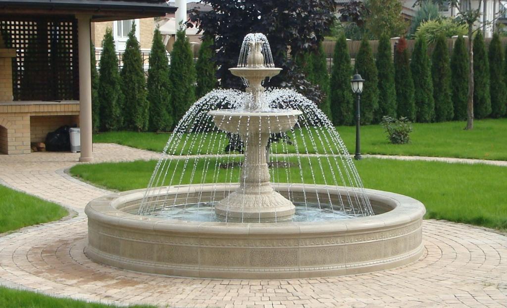 картинки фонтанов маленьких