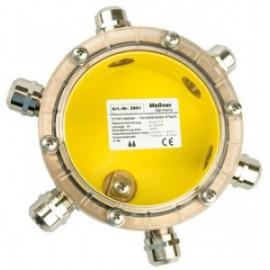 Подводная клеммная коробка IP68 6 вводов