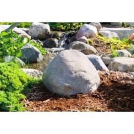 Декоративный камень TrueRock Small Boulder Rock, Vent Holes, Greystone