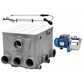 DrumFilter L set 1, Барабанный фильтр с УФ-излучателем, до 280 м³