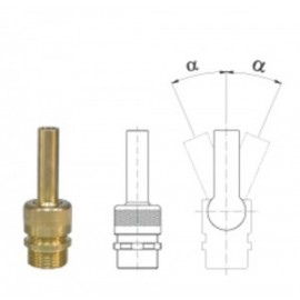 Lance jet 3/8``, 4 mm
