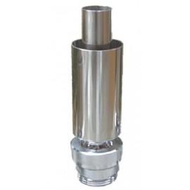 Pondtech CB40 - 1 1/2`` (материал сталь/латунь)