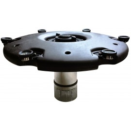 Floating fountain set 560W, Плавающий фонтан в комплекте с 3 насадками