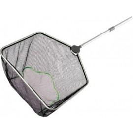 Pond Net длина рукоятки 95-180 см, квадратный 46 см [ячейки 3 и 5 мм ]