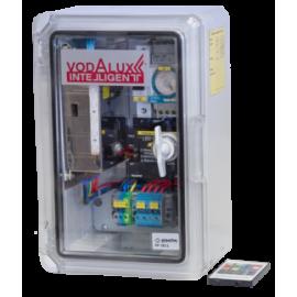 RGB шкаф управления подсветкой 220V/24V/250W/DC, блок питания, контроллер, таймер, автомат