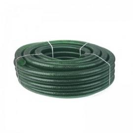 Армированный спиральный шланг зеленый 1``, цена за 1 м