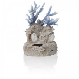 Орнамент ``Коралловый риф``, голубой, Coral reef ornament blue