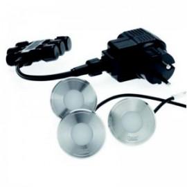 Комплект встраиваемых светильников LunAqua Terra Led Set 3