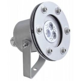 Light Fixture mini VX RGB 06W/12V, Светильник подводный из нерж. стали