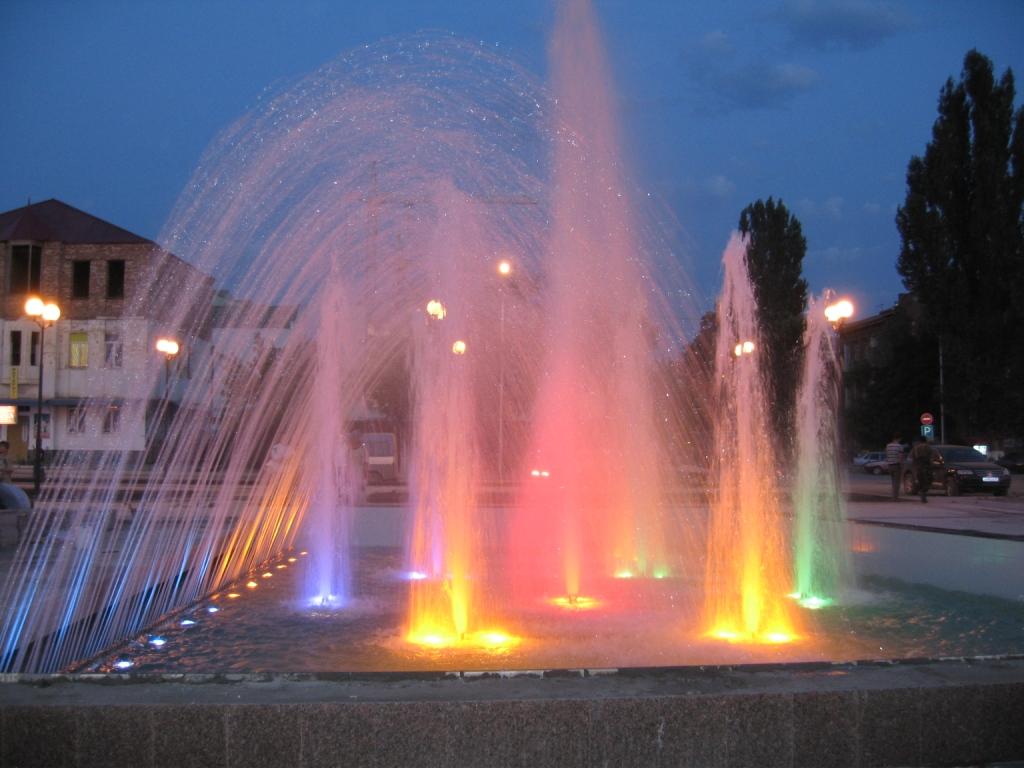 Строительство прудов и парковых фонтанов
