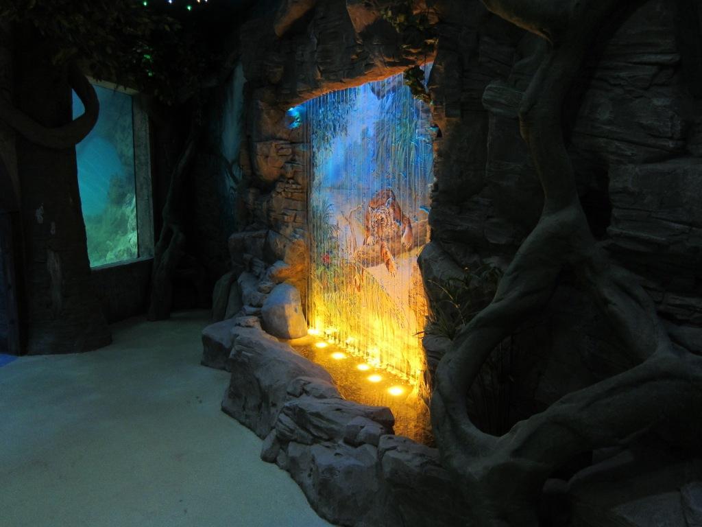 Строительство водопадов и интерьерных фонтанов